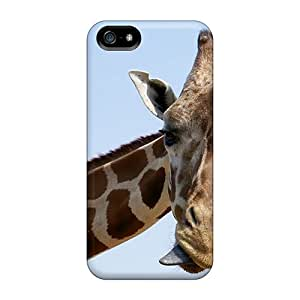 Tpu Shockproof/dirt-proof Zirraf Cover Case For Iphone(5/5s)