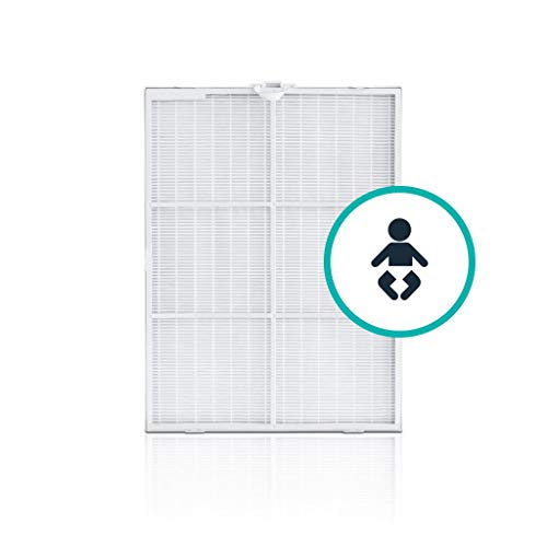 (Alen Filter Replacement for BreatheSmart 75i: Antimicrobial True HEPA Air Filter for Dust, Dander, Mold, Allergies, Heavy Household Odors, Diaper Bin Odors)