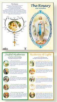- How to Say the Rosary Laminated Concertina Booklet.