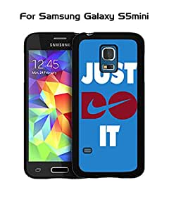 Galaxy S5 Mini Funda Case Brand Logo Just Do It --Nike Unique Pattern Tough Snap On Extra Thin Vintage Compatible with Samsung Galaxy S5 Mini