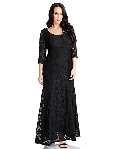 long black evening dress size 20 - 8