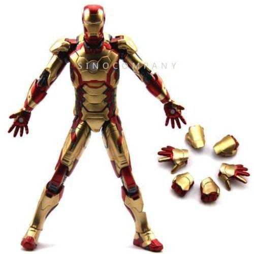 [NEW Marvel Select Legends Universe Iron Man 3 Mark 42 Tony Stark 7'' Figure] (Spider Costume For Dogs Video)