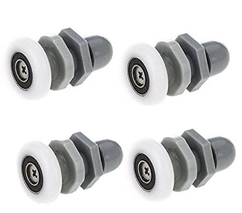 4 Pcs Shower Door Replacement Roller Wheel Diameter of 27 Mm DierCosy