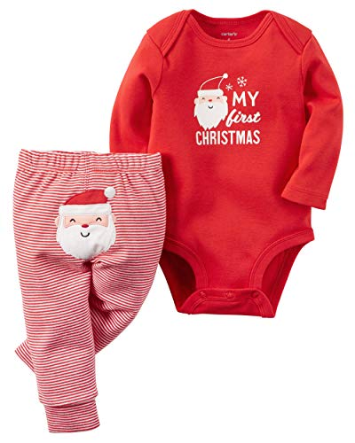 Babys First Christmas Pjs - (Carter's My First Christmas Set (Baby)