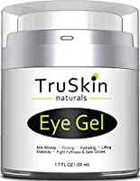 Best Eye Gel for Wrinkles, Dark Circles, Puffiness and Bags with Natural and ORGANIC Ingredients, Anti Aging Eye Cream for Under and Around Eyes - 1.7 fl oz