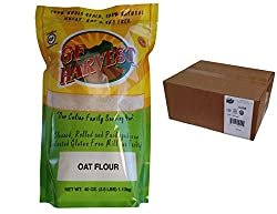 Gf Harvest Whole Grain Oat Flour, Gluten Free, (2.5 Pound Bag) (Pack Of 6)