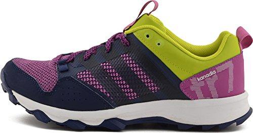 adidasKanadia 7 Trail - Zapatillas de Running Mujer - violet - navy - vert