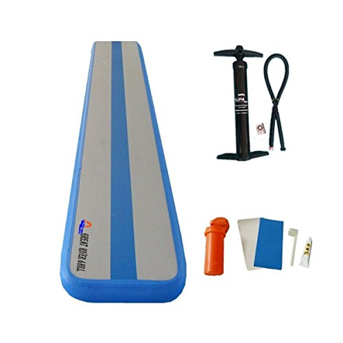 Inflatable Balance Beam Fitness Mat Air Track for Gumnastics Training Beam 10Feet by Great river & hill (Image #5)
