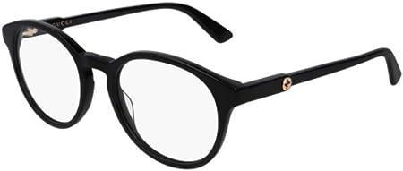 Gucci Montura Gafas Vista Hombre GG0485O Color 001 Calibre 52/20