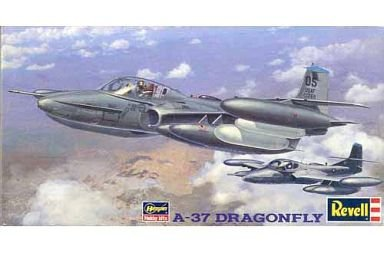 ハセガワ レベル 1/48 A-37 ドラゴンフライ HM162