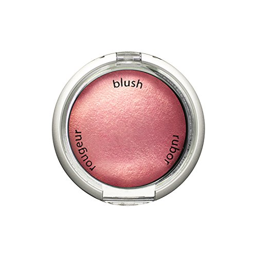 Palladio Baked Blush, Blushin, 2.5g, Highly Pigmented and Shimmery Powder Blush, Apply Dry for Natural Glow or Wet for Dramatic Radiance, Easy to Blend Makeup Blush, Apply Blusher with Blush Brush