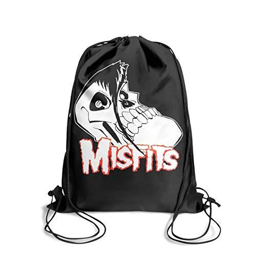 Thdkgd Music Fan Drawstring Backpack String for Women/Men/Girls/Boys Gym Sports Popular Athletic Sinch Sack Bag