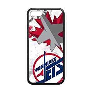 Happy Winnipeg Jets Cell Phone Case for Iphone 5C