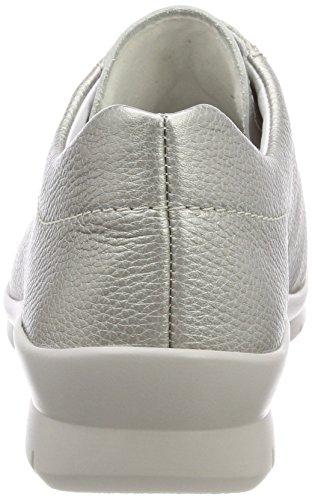 Brogue Gris para de Perle 015 Cordones Zapatos Semler Xenia Mujer xTwvnWfIIS