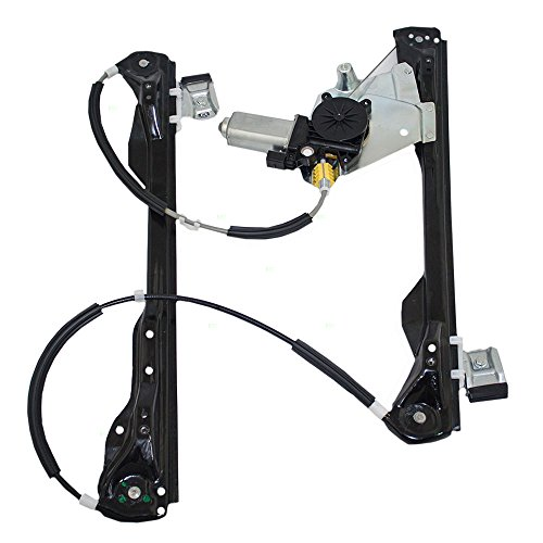 Passengers Front Power Window Lift Regulator with Motor Assembly Replacement for Ford Focus 4-Door Sedan Wagon Hatchback 6S4Z5423200BB