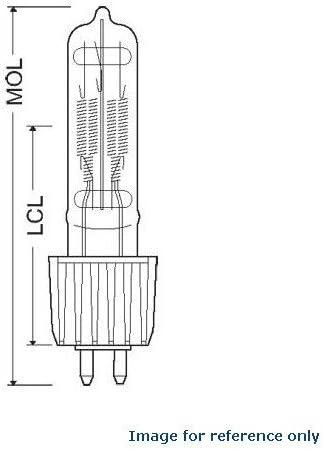 HPL 575-115-x Osram HPL575 115X 54807 Lamp Bulb 4 Qty