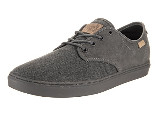 Vans Unisex Ludlow (Stealth Fleck) Skate Shoe Pewter/Pewter