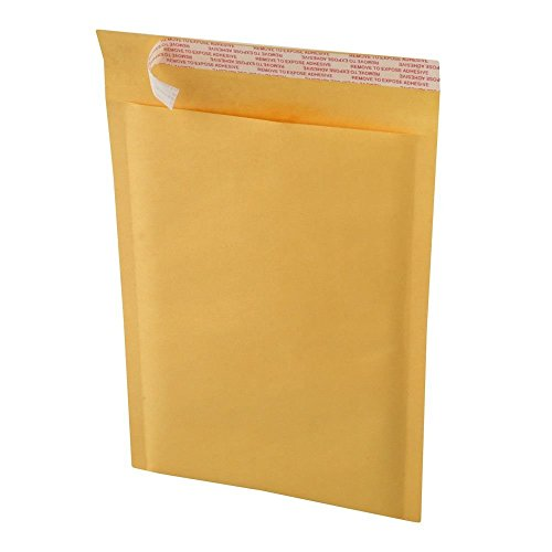 Premium Mailers 100 #4 9.5x14.5 KRAFT BUBBLE MAILERS PADDED ENVELOPES #4 (4 Kraft Bubble Mailers)