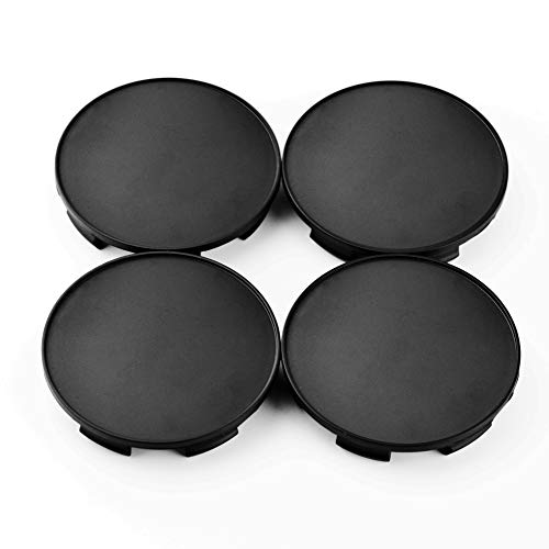 Rhinotuning 70mm(64mm) Black ABS Car Wheel Center Hub Caps Set of 4 (Replace # 44732-SXO-JO10)