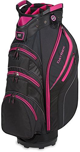 Pink Golf Golf Bag - Datrek Lite Rider II Cart Bag Black/Pink/Charcoal Lite Rider II Cart Bag