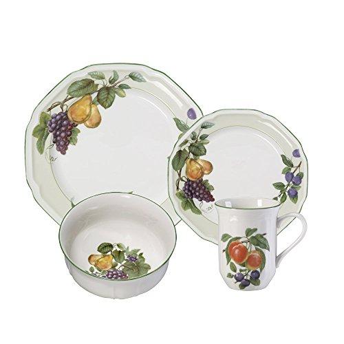 mikasa antique white fruit bowls - 8