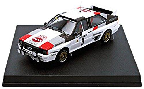 1/43 アウディ クアトロ 1983年モンテカルロラリー 3位 Stig Blomqvist/B. Cederberg 1620
