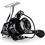 KastKing Megatron Spinning Reel, Freshwater and Saltwater Spinning Fishing Reel, Rigid Aluminum Frame 7+1 Double-Shielded Stainless-Steel BB, Over 30 lbs. Carbon Drag, CNC Aluminum Spool & Handle