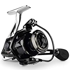 Precise geometric design and bionic engineering sets the KastKing Megatron spinning reel far apart from all others. This unique combination of design and materials results in the ultimate fishing reel for the spin fishing angler looking for b...