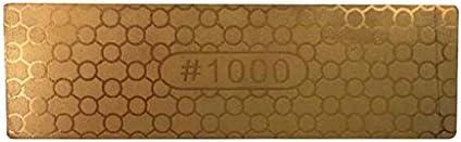 B Blesiya 両面ダイヤモンド 砥石削り 家庭用 削り砥石 包丁研ぎ 研磨工具 ゴールデン 全2選択 - #400または#1000