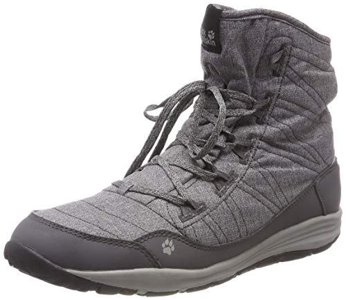 Wolfskin Femme 6032 Chaussures de Jack Steel Randonnée Gris Dark Noir Hautes Boot Portland W anxnZqC