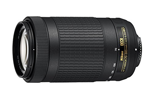 Nikon 70-300mm f/4.5-6.3G DX AF-P ED Zoom-Nikkor Lens - (Certified Refurbished)