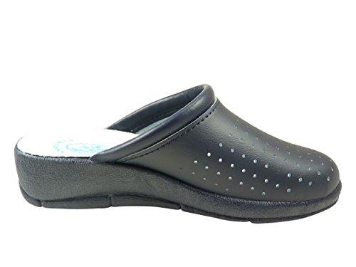 Donna Blu sandali Sabot Chaussmaro Chaussmaro Sabot qvwX6I