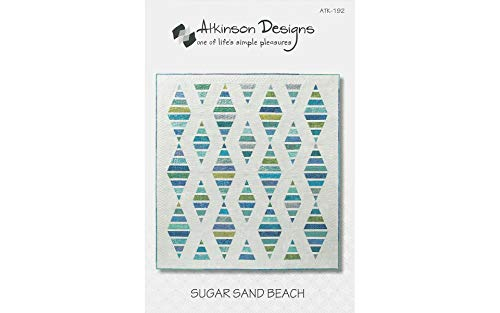 Patterns Quilt Beach - Atkinson Designs ATK-192 Sugar Sand Beach Pattern