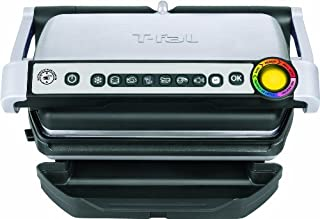 T-fal GC70 OptiGrill Electric Grill, Indoor Grill, Removable Nonstick Dishwasher Safe Plates, 4 Servings, Silver (B00H4O1L9Y) | Amazon price tracker / tracking, Amazon price history charts, Amazon price watches, Amazon price drop alerts