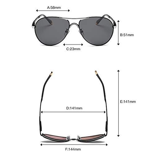 Noire Miroir B Lunettes HQCC Lunettes de Hommes Grenouille Conduite de pour Vent Coupe Conduite lentille 6OP6q