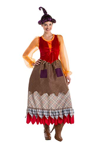Mary Sanderson Hocus Pocus Costume (LF Centennial Pte. Women's Goofy Salem Sister Witch Costume Medium)