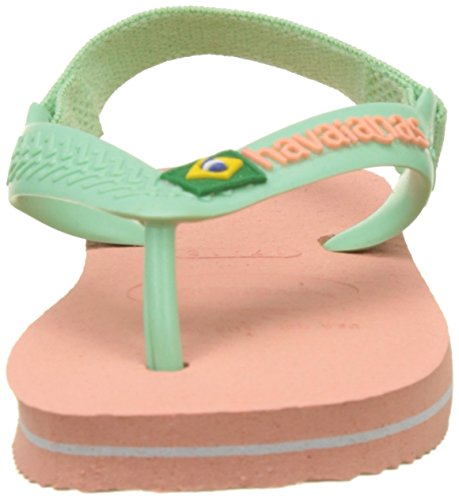 Ii Logo Havaianas silk Rosa 0 Bimbi Brasil 24 Rose Baby Unisex Infradito tqtZTwO