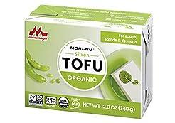 Mori-Nu Silken Organic Tofu 12oz x12 Pac...