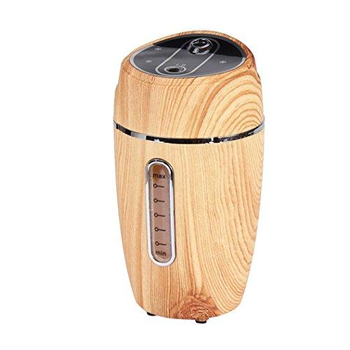 Fabal Hot Mini USB Humidifier Air Purifier Freshener Diffuser For Car Home Office (Yellow)