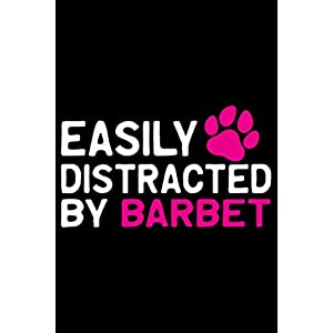Easily Distracted by Barbet: Cool Barbet Dog Journal Notebook - Barbet Puppy Lover Gifts – Funny Barbet Dog Notebook - Barbet Owner Gifts – Barbet Dad & Mom Gifts. 6 x 9 in 120 pages 47