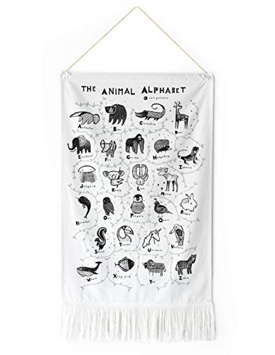 (Wee Gallery, Animal Alphabet Wall Hanging)