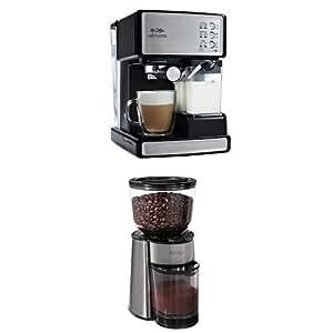 Ninja Coffee Maker As Seen On Tv : Amazon.com: Mr. Coffee Cafe Barista Espresso Maker and BVMC-BMH23 Automatic Burr Mill Grinder ...