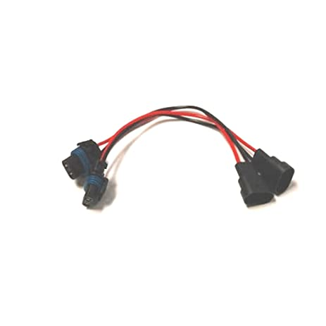 41ZrvcSTn1L._SY463_ amazon com 9005 9005xs male and female wire harness automotive GM Turn Signal Wiring at gsmx.co