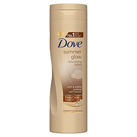 Dove Summer Glow Nourishing Lotion for Normal to Dark Skin 250ml