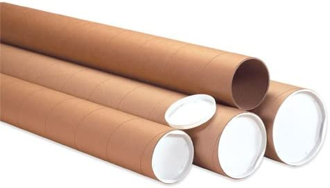 """100  5/""""x24/"""" Poster Sleeves tube Bags Bag Fits poster size 24 36/"""" x 3/"""" diameter"""