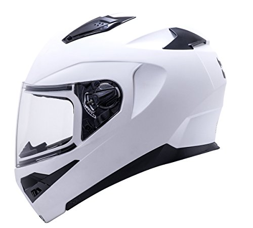 - Kali Apex Solid Matte White Full Face Motorcycle Helmet S M L XL (M)