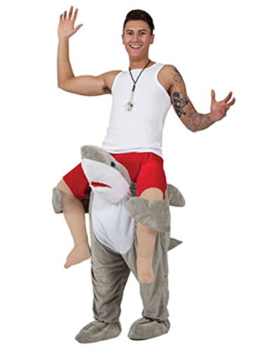 Shark Mascot Costumes - Carry Mascot Me Guy Ride On