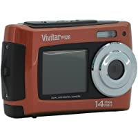 Vivitar 14MP Dual Screen Camera - Orange VF526 (VF526CL-ORANGE-TA)