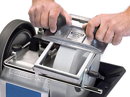 Molding Knife Sharpener Tormek SVP-80. Sharpens European Molding Knives and Works With Your Tormek Sharpening System T-7, T-4, T-3, etc.