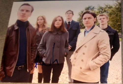 ROSE BYRNE SIGNED AUTOGRAPH NEW X-MEN FIRST CLASS PHOTO ()